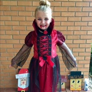 Other - Girls Vampire Halloween Costume 🎃🧛🏻♀️